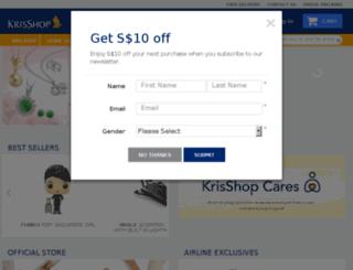 krisshopair.com.sg screenshot
