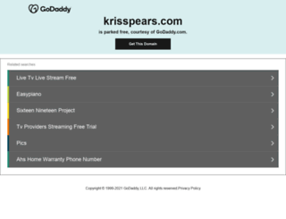 krisspears.com screenshot