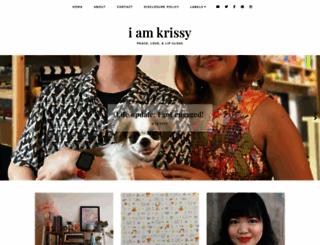 krissyfied.com screenshot