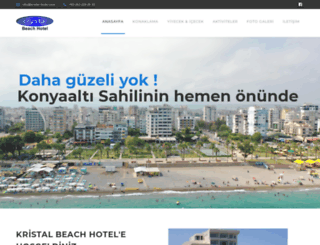 kristal-hotel.com screenshot