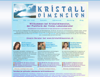 kristalldimension.ch screenshot