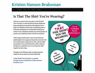 kristenbrakeman.com screenshot