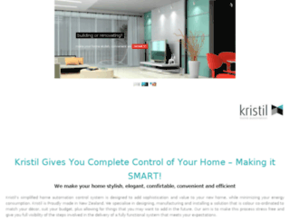 kristil.com screenshot