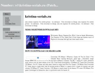 kristina-serials.ru screenshot