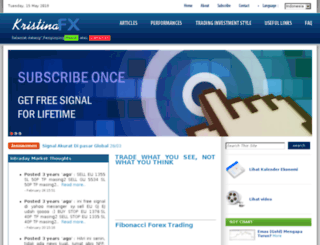 kristinafx.com screenshot