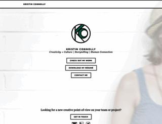 kristinconnolly.com screenshot