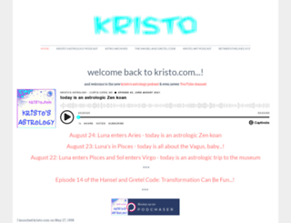 kristo.com screenshot