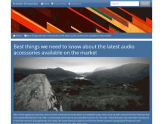 kristofer93.com screenshot