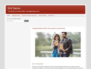 kritisanon.com screenshot