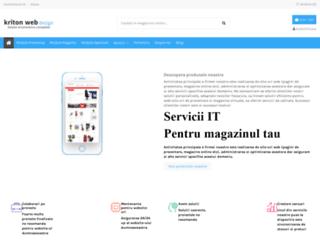 kritondesign.ro screenshot
