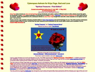 kriyayoga.com screenshot