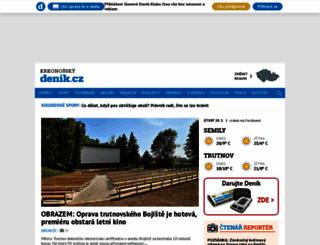 krkonossky.denik.cz screenshot