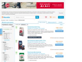 krmivo-pre-psov.heureka.sk screenshot