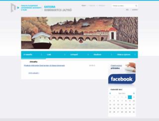 kro.zcu.cz screenshot