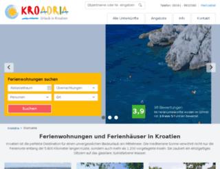 kroadria.com screenshot