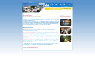 kroatiaservice.com screenshot