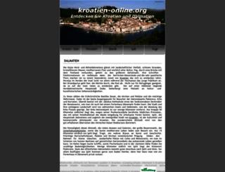 kroatien-online.org screenshot