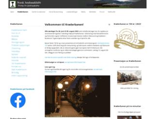 kroderbanen.no screenshot