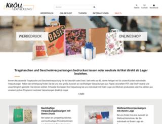 kroell-shop.de screenshot