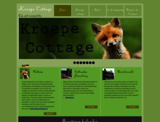 kroepecottage.nl screenshot