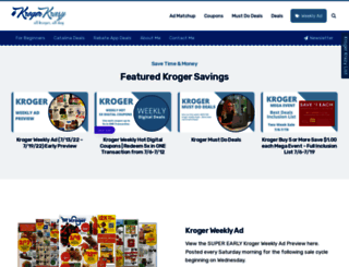 krogerkrazy.com screenshot