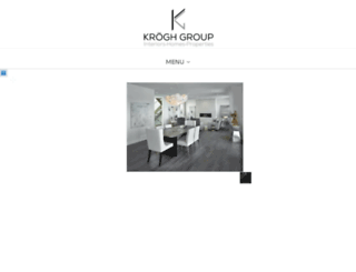 kroghgroup.com screenshot