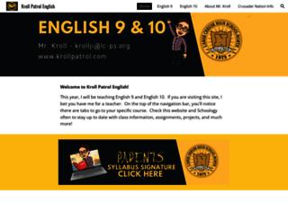 krollpatrol.com screenshot