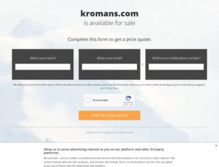 kromans.com screenshot
