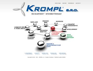 krompl.cz screenshot