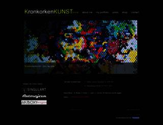 kronkorkenkunst.de screenshot