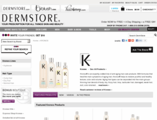 kronos.glow.com screenshot