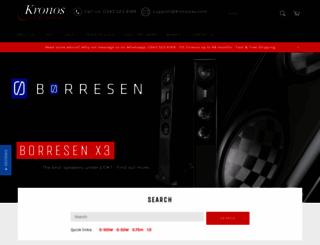 kronosav.com screenshot