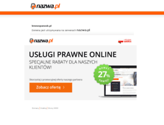 kronospanosb.pl screenshot