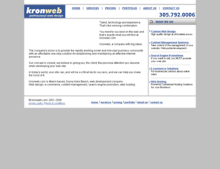 kronweb.net screenshot