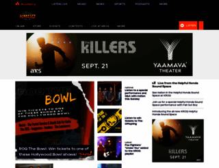 kroq.com screenshot