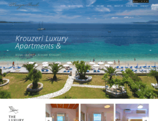 krouzeribeach.com screenshot