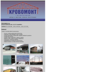 krovomont.backabanat.com screenshot