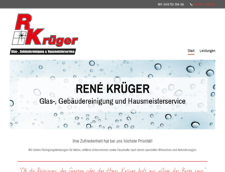 krueger-glasreinigung.de screenshot