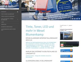 krueger-wesel.de screenshot