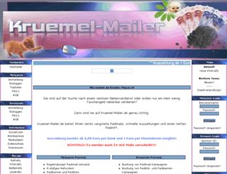 kruemel-mailer.de screenshot