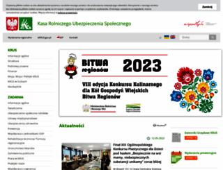 krus.gov.pl screenshot