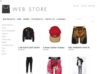 krush.lightspeedwebstore.com screenshot