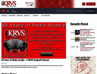 krvs.org screenshot