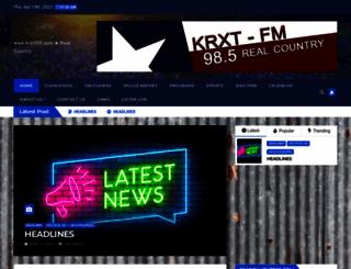 krxt985.com screenshot