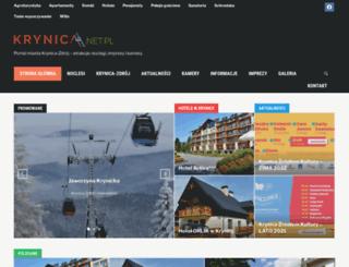 krynica.net.pl screenshot