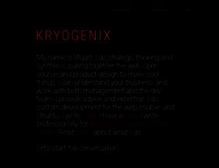 kryogenix.org screenshot