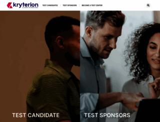 kryteriononline.com screenshot