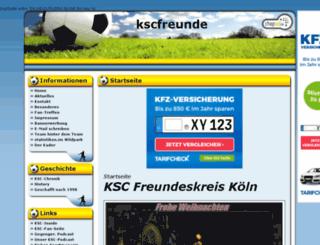 kscfreunde.chapso.de screenshot