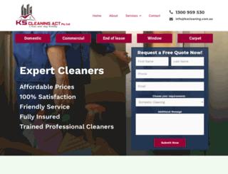kscleaning.com.au screenshot