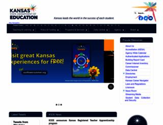 ksde.org screenshot